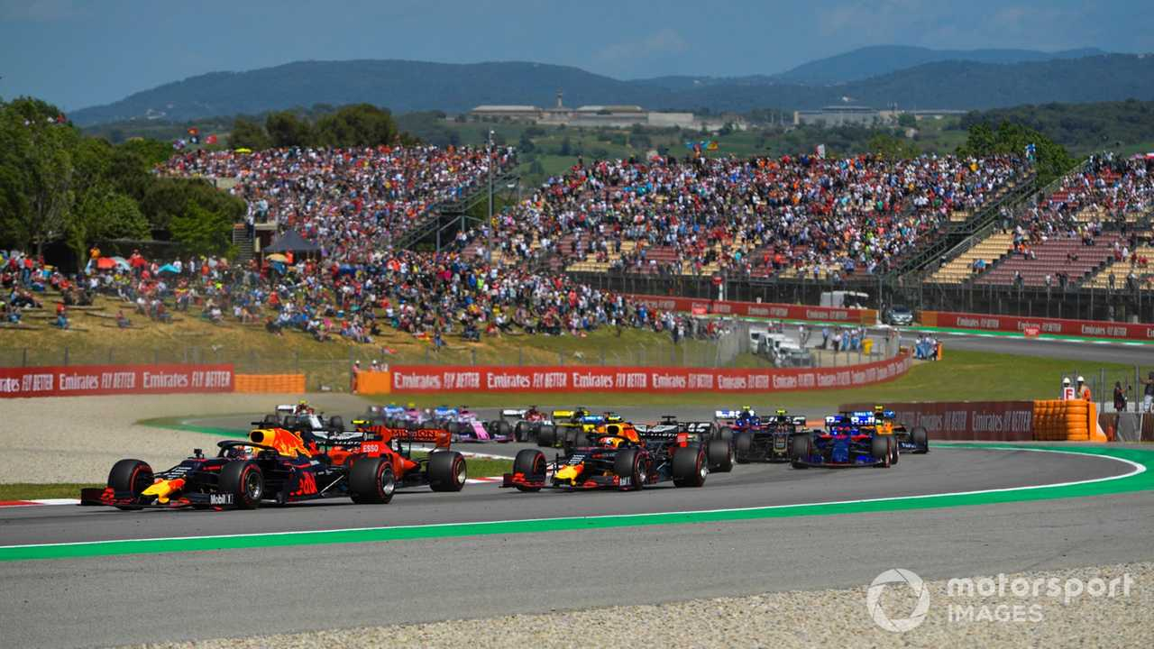 Spanish GP race start 2019