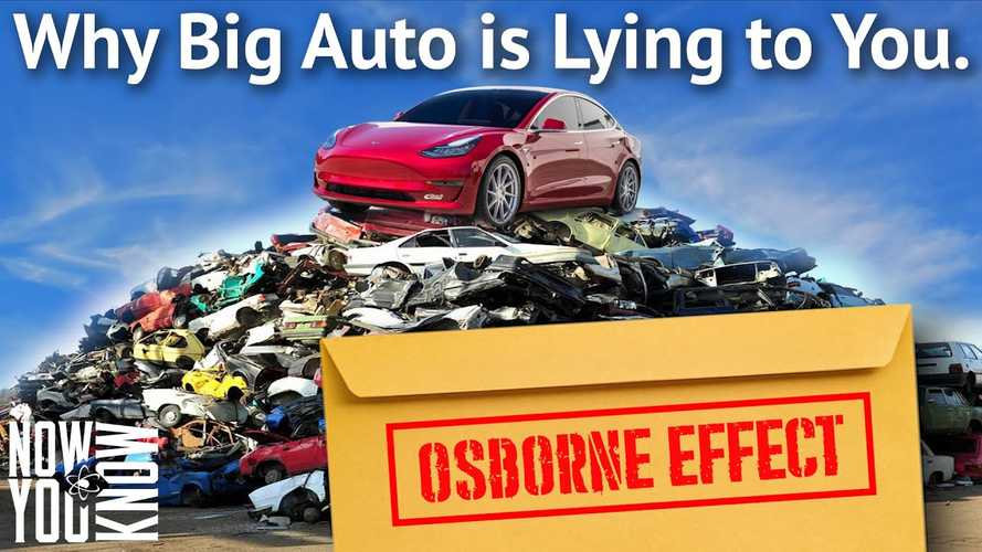 Is The Osborne Effect A Concern Only For Big Auto Or Also For Tesla?