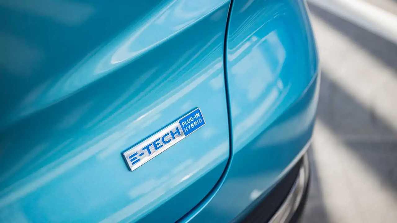 Logo Renault E-Tech