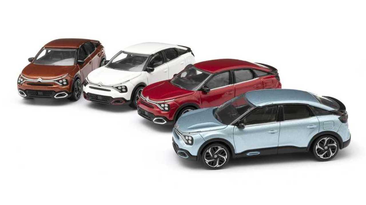 2021 Citroen C4 scale models