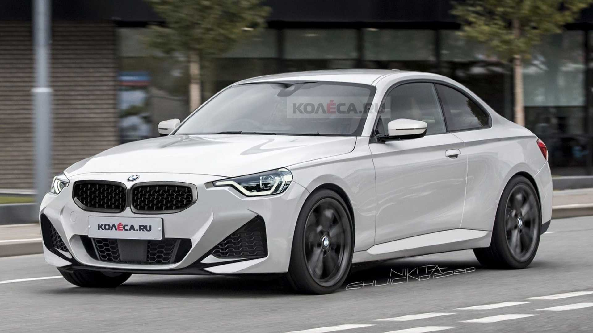 2022 BMW 2 Series Coupe Leaked Photos Turned Into Realistic Rendering - Motor1