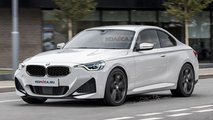2022 BMW 2 Series Coupe rendering