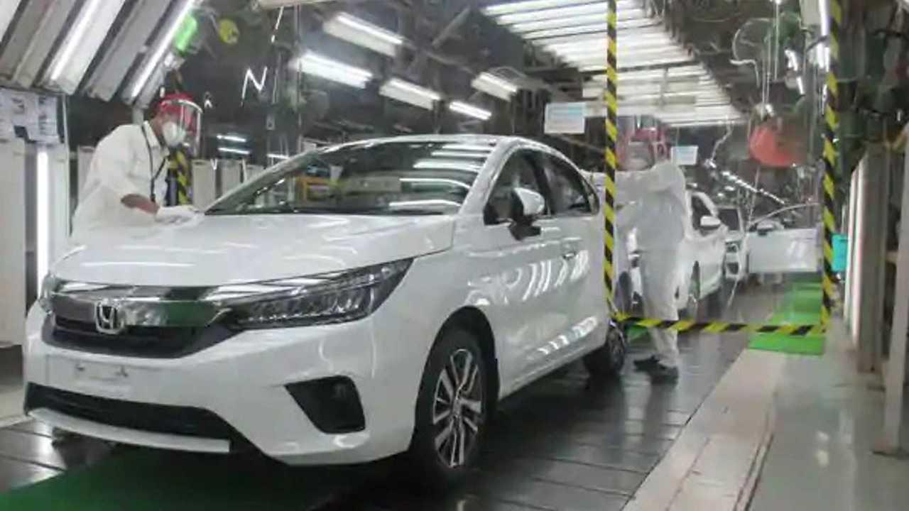 Honda City 2021 - Produção na Índia