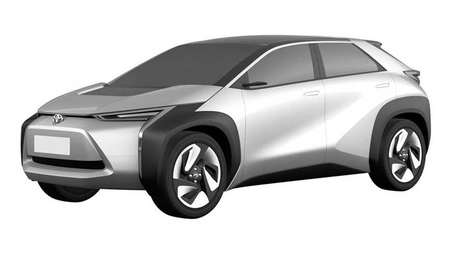 Two Toyota electric crossovers revealed by Chinese patent images