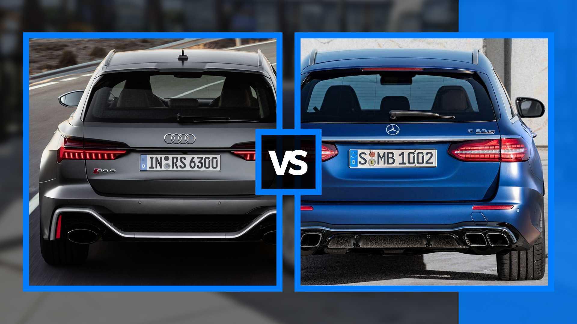 Audi RS 6 Avant vs Mercedes-AMG E 63S SW, le match des breaks