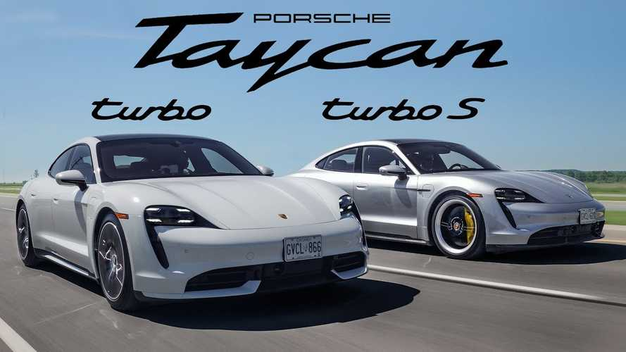 Video Analyzes The Differences Between Porsche Taycan Turbo And Turbo S