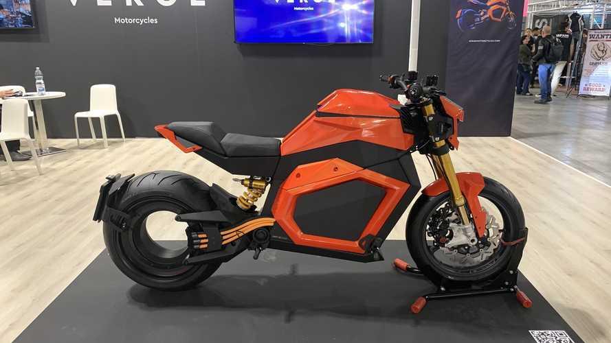 Verge TS, la moto elettrica degna di Tron Legacy con 1000 Nm di coppia