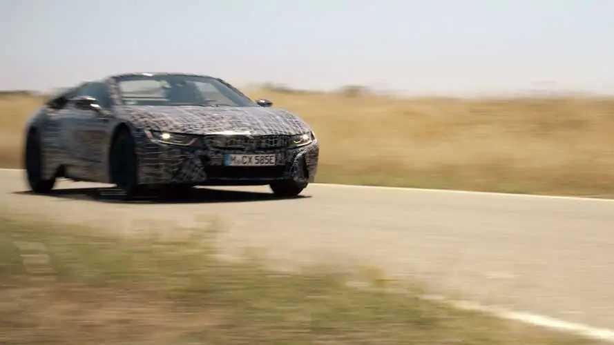 BMW показала новые фото и видео родстера i8