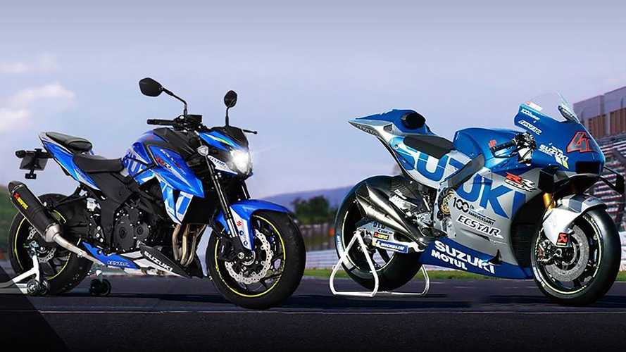 Suzuki Releases GSX-S750 MotoGP Replica In France