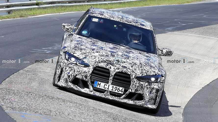 BMW M3 Spy Photos