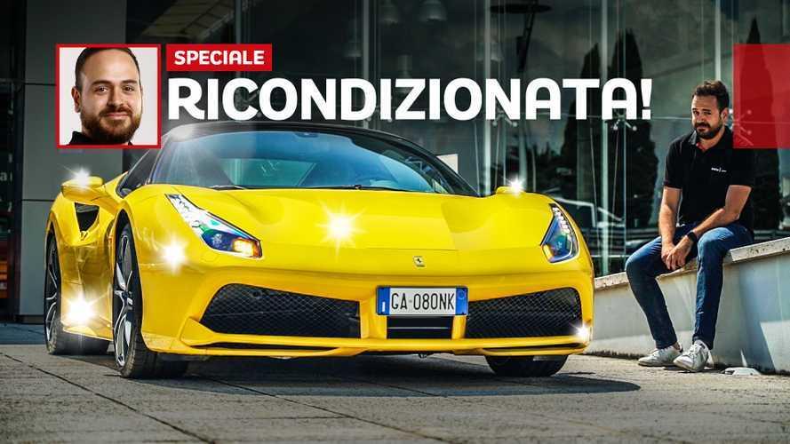 """Ferrari di seconda mano, ecco come vengono """"ricondizionate"""""""