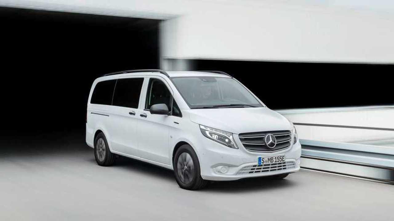 New Mercedes-Benz eVito Tourer