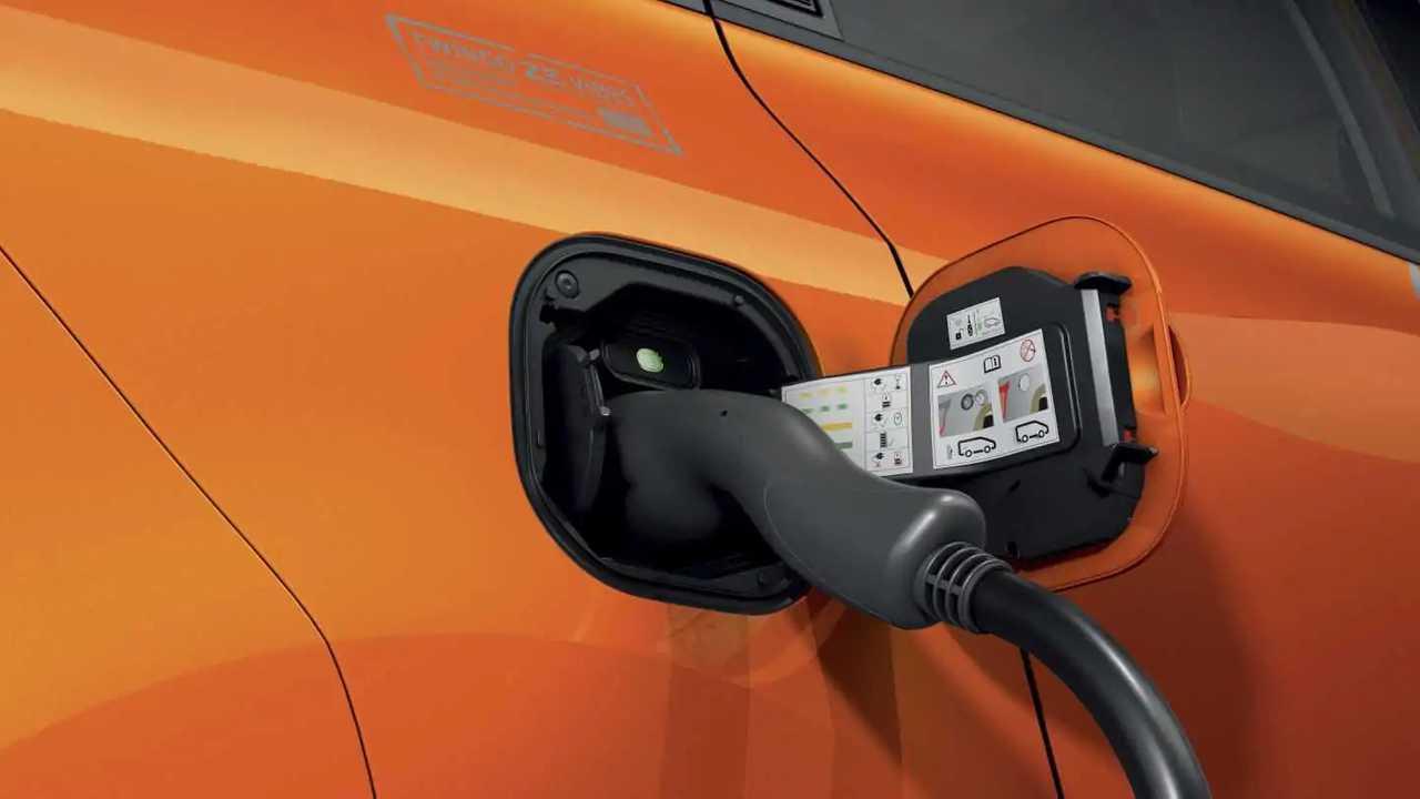 Renault Twingo Z.E. Vibes (2021) - carregador