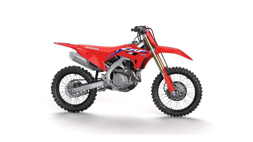 The 2021 Honda CRF450R Gets New Frame, Many Other Upgrades
