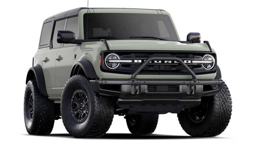 2021 Ford Bronco First Edition Production Boosted To 7,000 Units