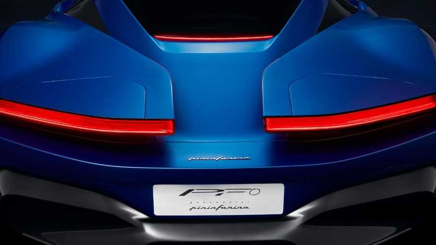 Pininfarina releases first glimpse of PF0 electric hypercar