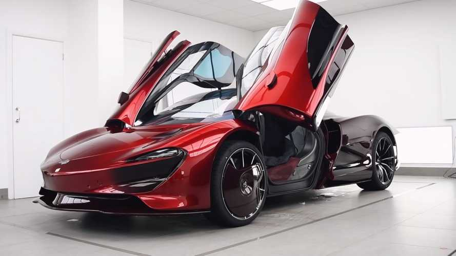 Seeing McLaren Speedtail Get Paint Protection Is Oddly Soothing