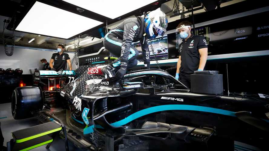 Bottas: Mercedes F1 contract talks 'moving in right direction'