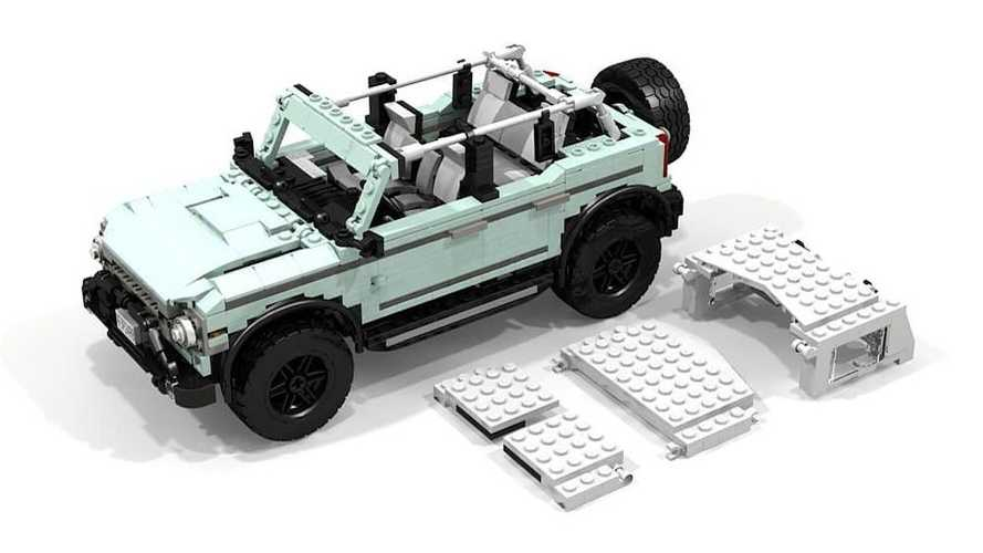 Ford Engineer Creates Lego Bronco SUV, But You Can't Buy One