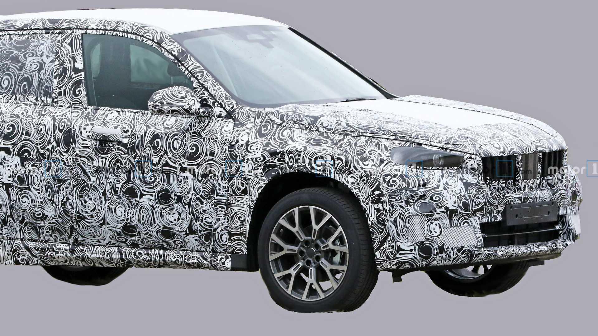 2021 - [BMW] X1 III Bmw-x1-spy-photos