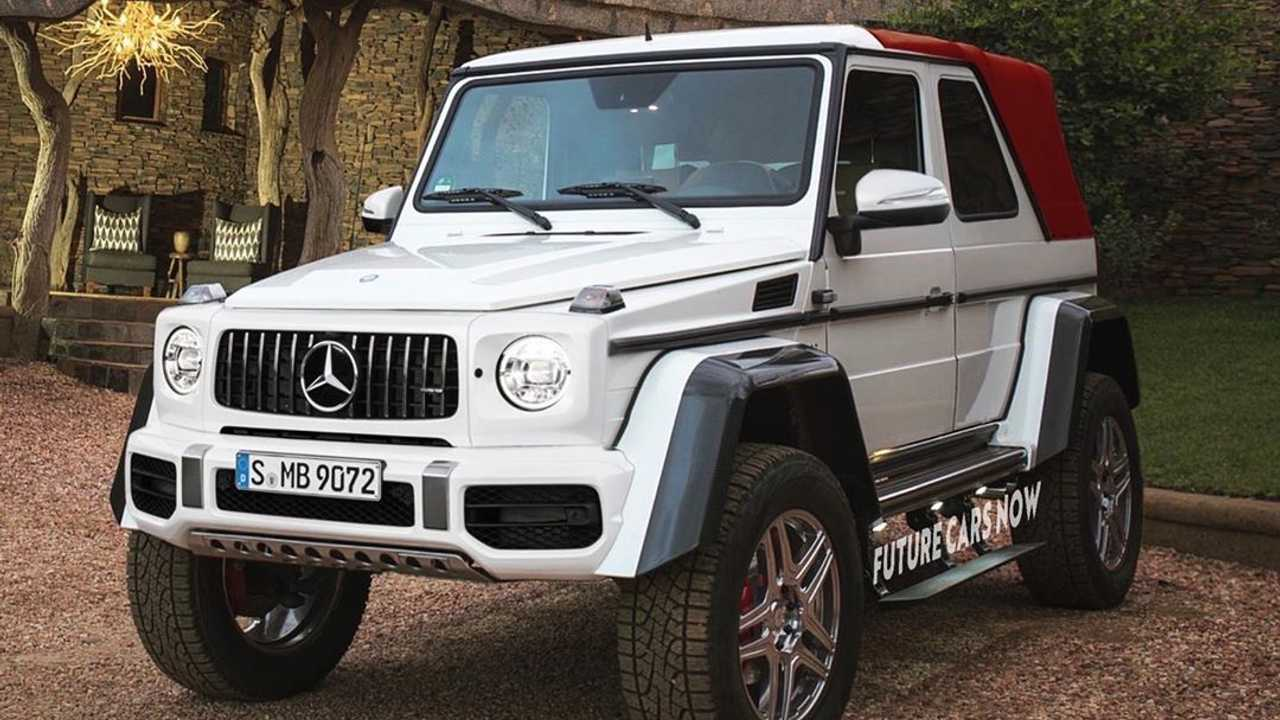 Mercedes-AMG G63 Rendering Brings Back The G-Class Convertible