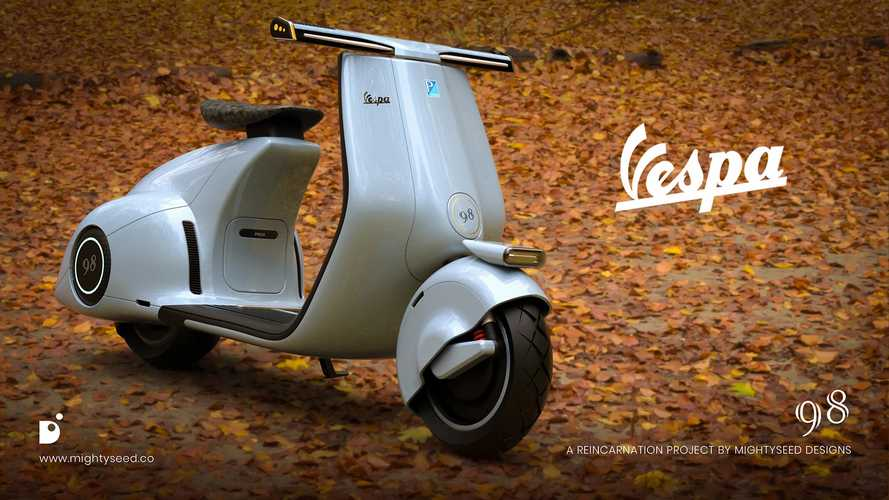 Electric Vespa Concept Means Business, Will Sting You If Pushed