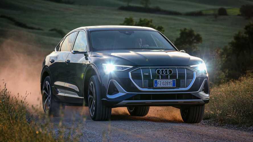 Audi e-tron Sportback, la prova del SUV coupé elettrico su InsideEVs.it