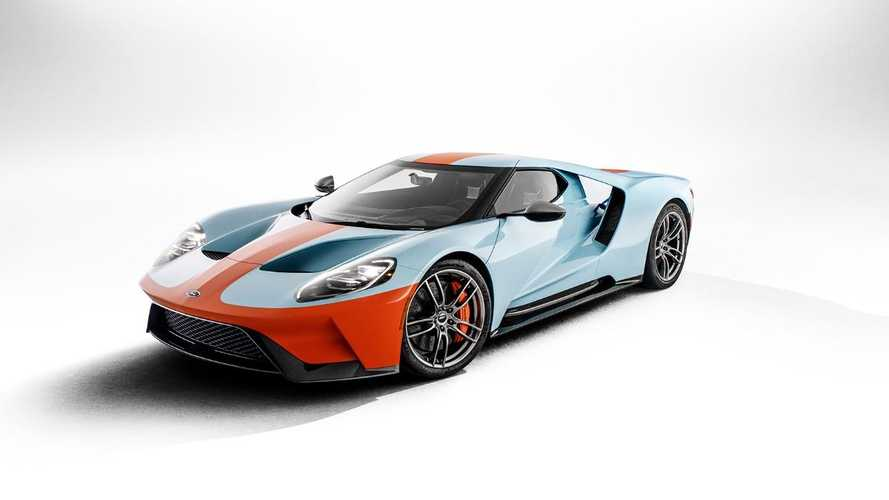 First new Ford GT Heritage Edition joins charity auction