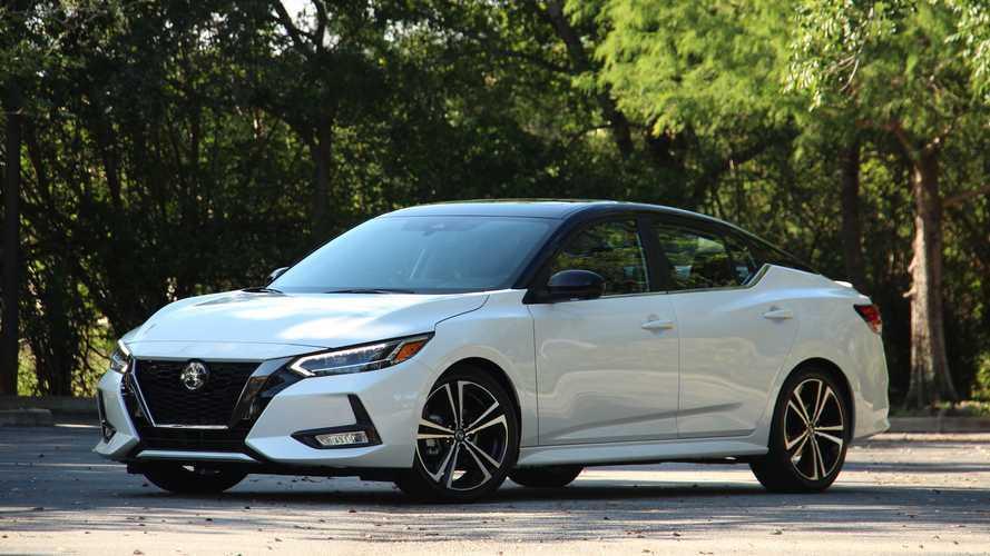 2020 Nissan Sentra SR: Driving Notes