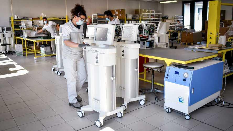 FCA e Siare fanno 3.000 respiratori