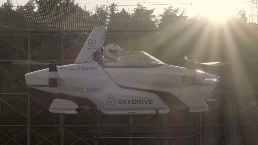 Skydrive Cartivator SD-03: Dieser Octocopter soll den Stau überfliegen