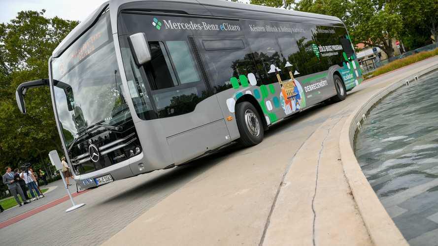 Holnaptól egy hónapig ingyenesen lehet kipróbálni egy elektromos meghajtású buszt Debrecenben