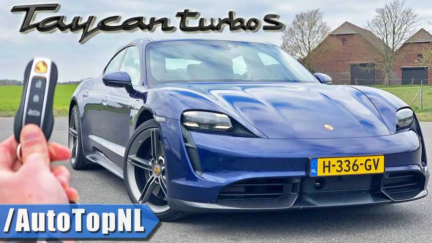 Porsche Taycan Turbo S Autobahn Test Drive And Full Review