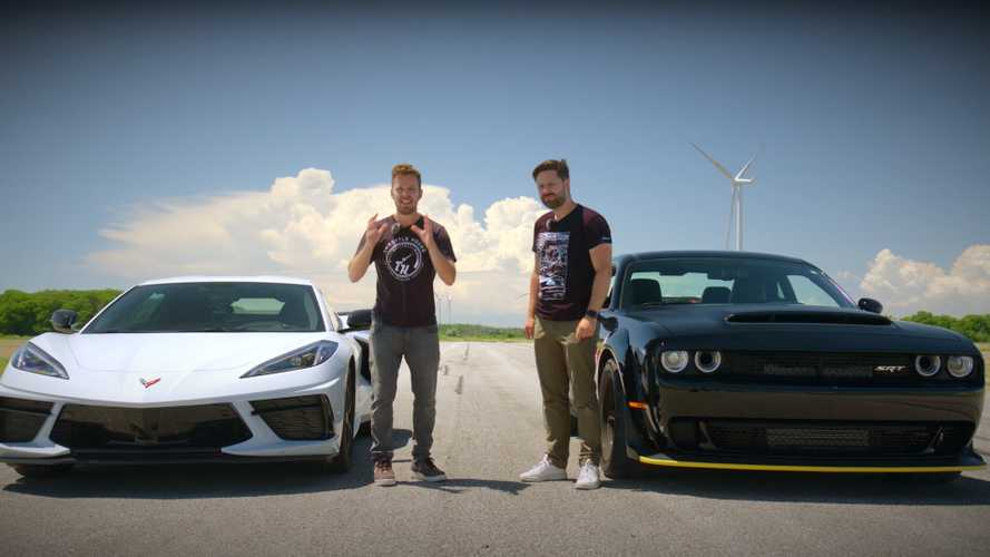 Chevy Corvette C8 Vs Dodge Demon Drag Race Ends In An Upset