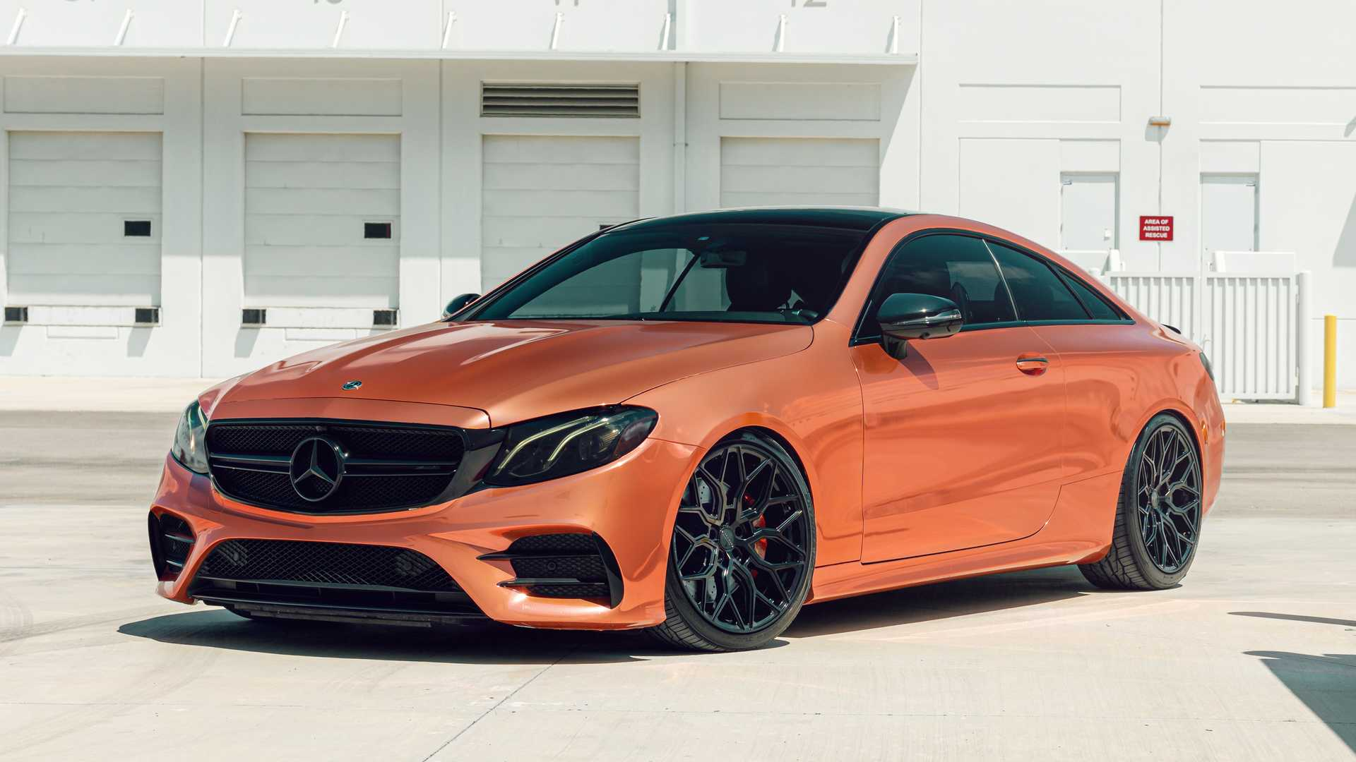 Mercedes-AMG E53 Coupe Gets An Eye-Popping Copper Makeover