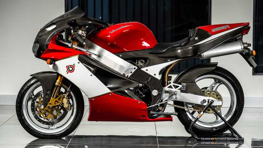 This Ultra Rare Bimota SB8R Can Be Yours