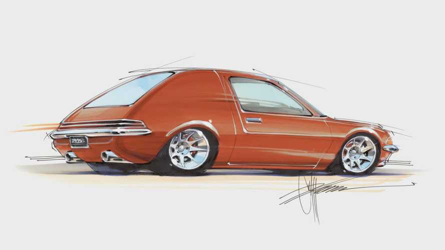 Chip Foose Redesigns The AMC Pacer Into A Panel Van, And It's Epic