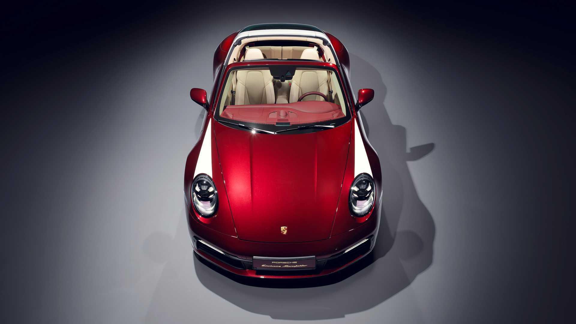 Porsche 911 Targa 4S Heritage Design Edition: un guiño a los años 50