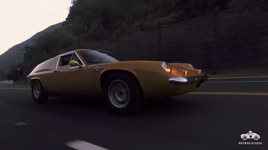 Rare Lotus Europa has the best owner a car could ever ask for
