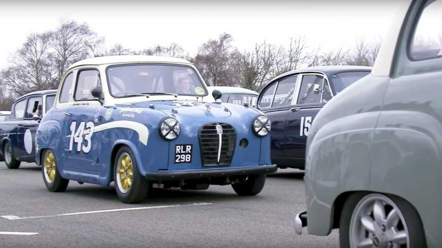 Watch: Vintage racing with Anthony Reid and an Austin A30