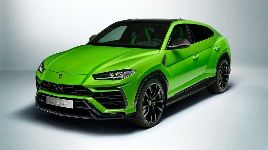Los nuevos colores del Lamborghini Urus lucen mejor en movimiento