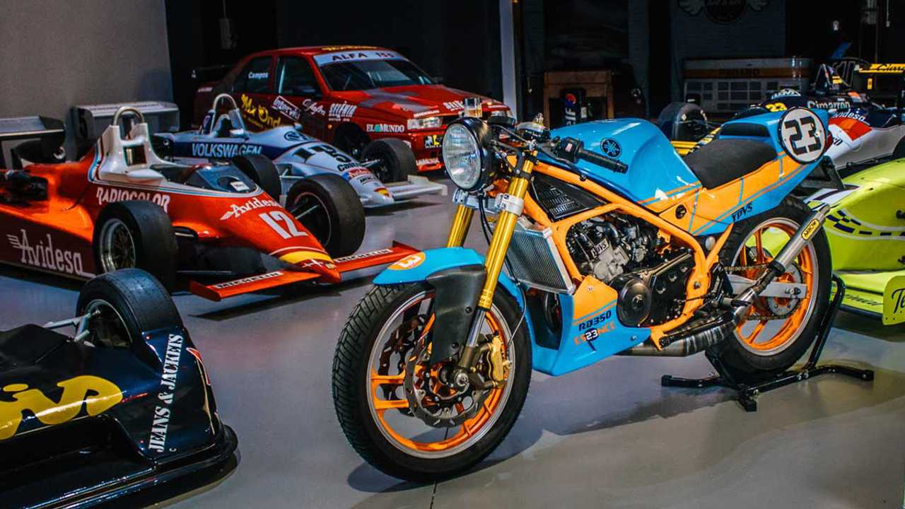 Bolt Motor Co. Custom Yamaha RD350