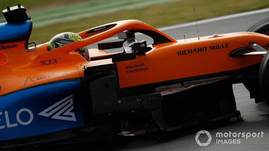 Physical forces 'a challenge' on F1 return, says Norris