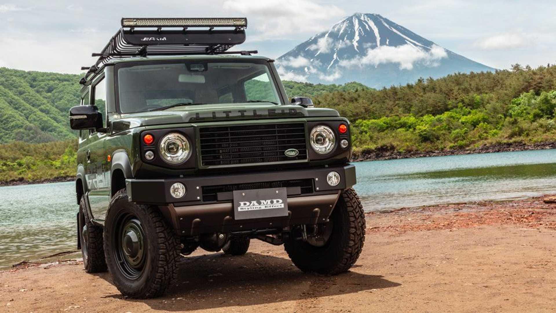 Tuner verwandelt Suzuki Jimny in Mini-Land Rover Defender