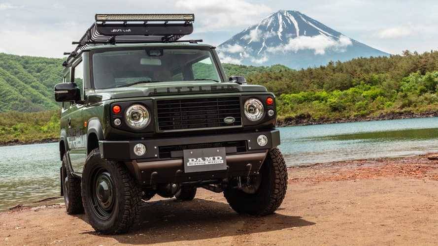 Tuner turns Suzuki Jimny into mini first-gen Land Rover Defender