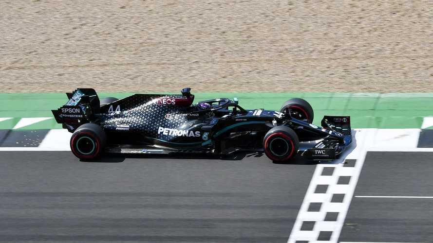 2020 Britanya GP: Hamilton patlak lastikle yarışı kazandı!