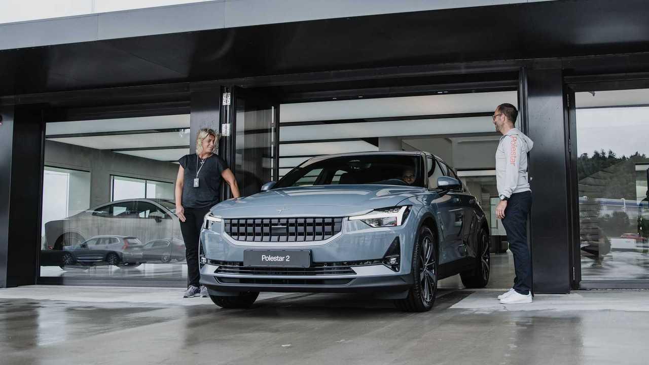 First European Polestar 2 customer car delivered