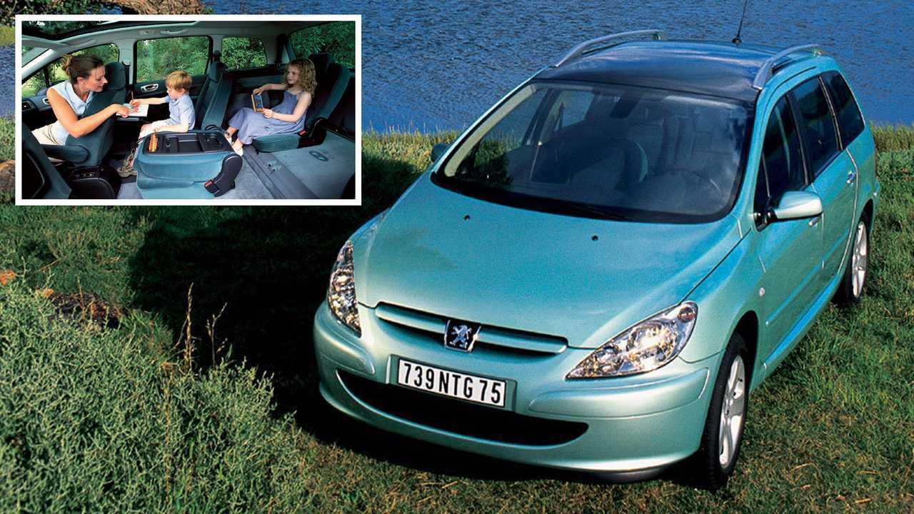 9 место – Peugeot 307 SW: 4419 мм в длину