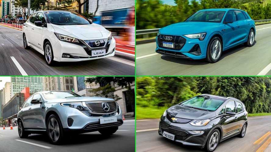Vendas de carros eletrificados crescem 221% no Brasil no 1º semestre