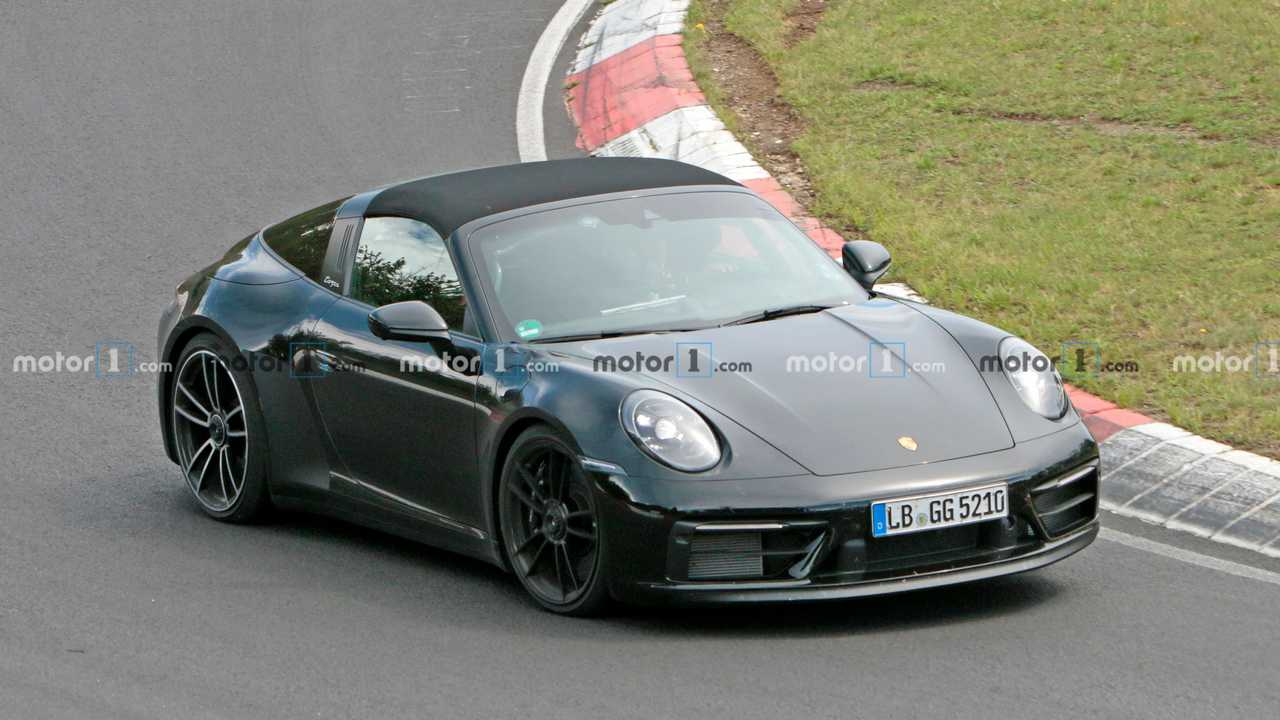 Porsche 911 GTS Targa Yeni Casus Fotoğraflar